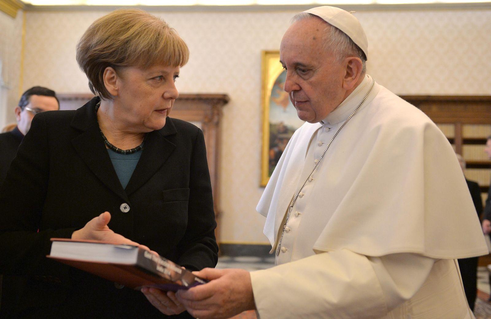 Merkel/ Papst/ Vatican Pope