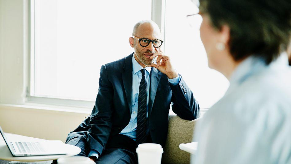 Nicht beirren lassen: Auch der Chef braucht gutes Feedback, nur dann kann er sich ändern
