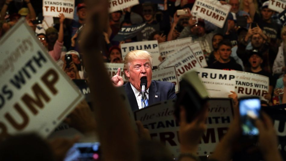 US-Präsident Donald Trump: Sündenbock gefunden