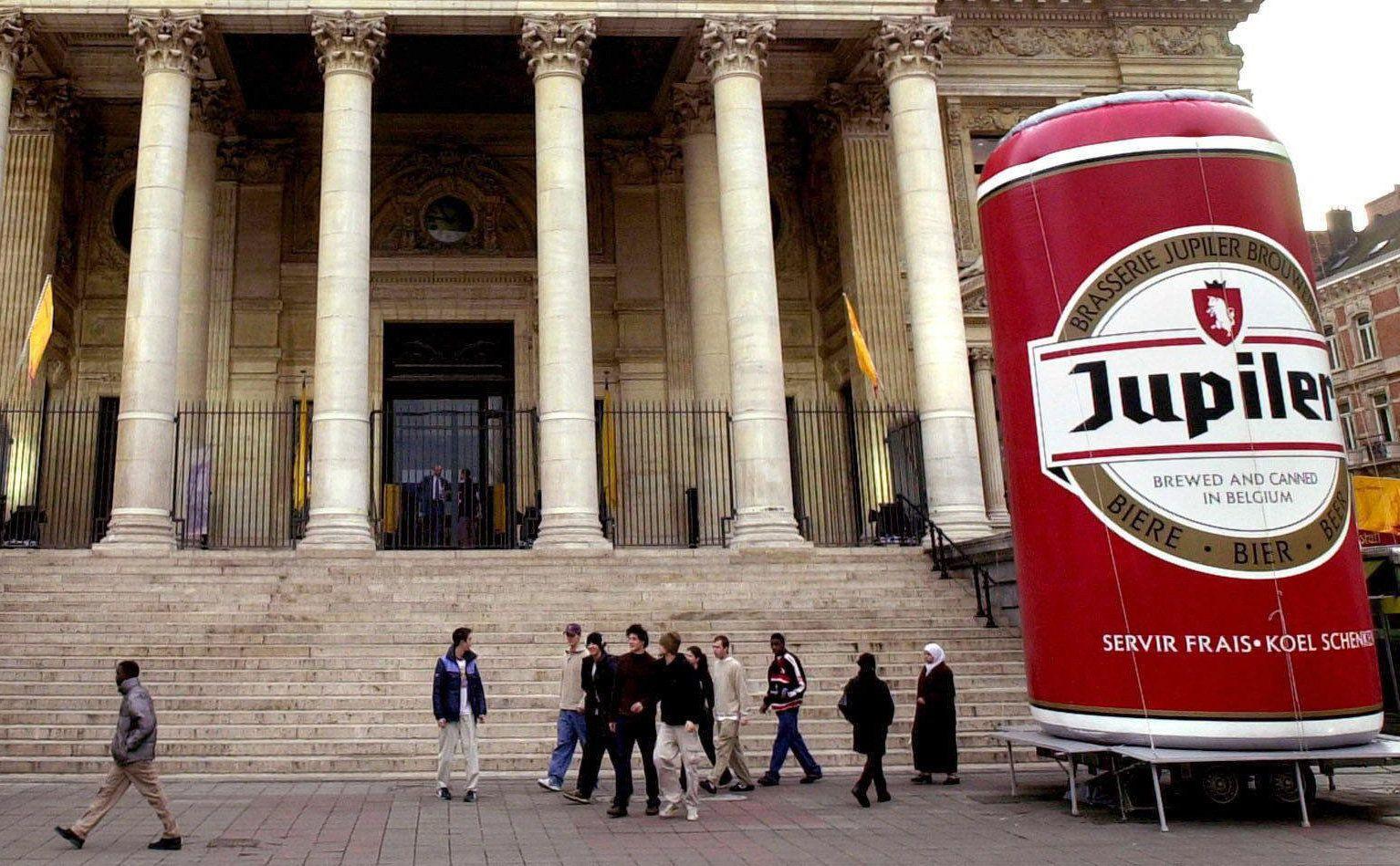 """Bier-Werbung für """"Jupiler"""""""