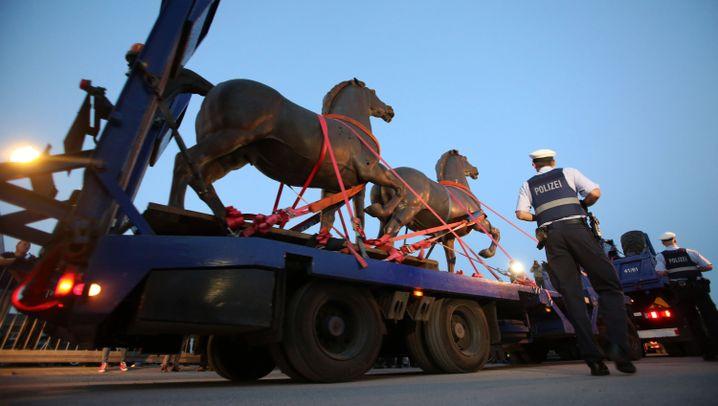 NS-Kunst: Thoraks Bronzepferde