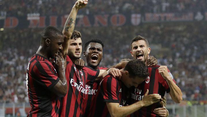 AC Mailand: 190 Millionen Euro für zehn Spieler