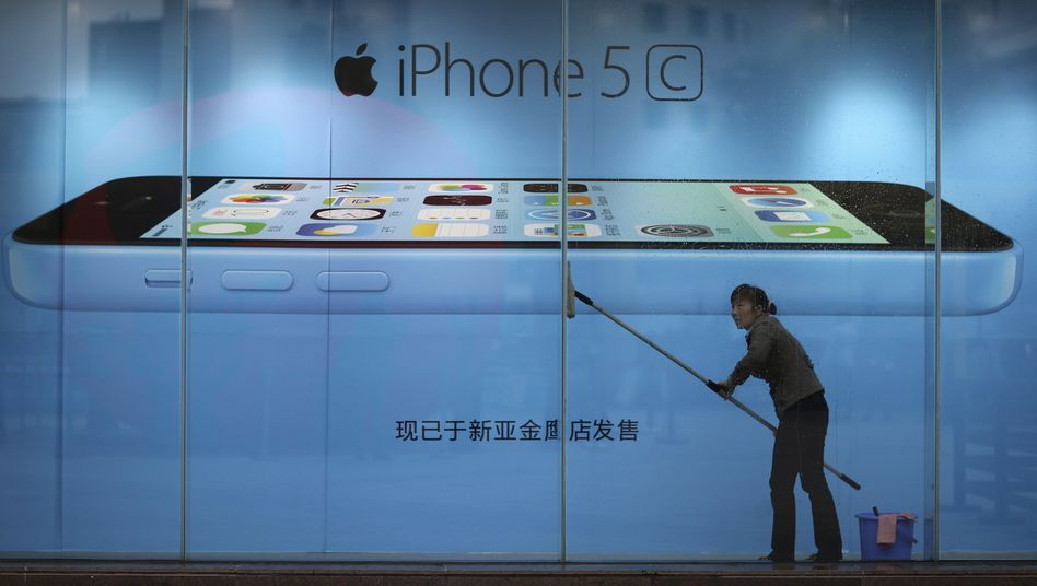 Apple Store in China: Schlechte Presse für das iPhone