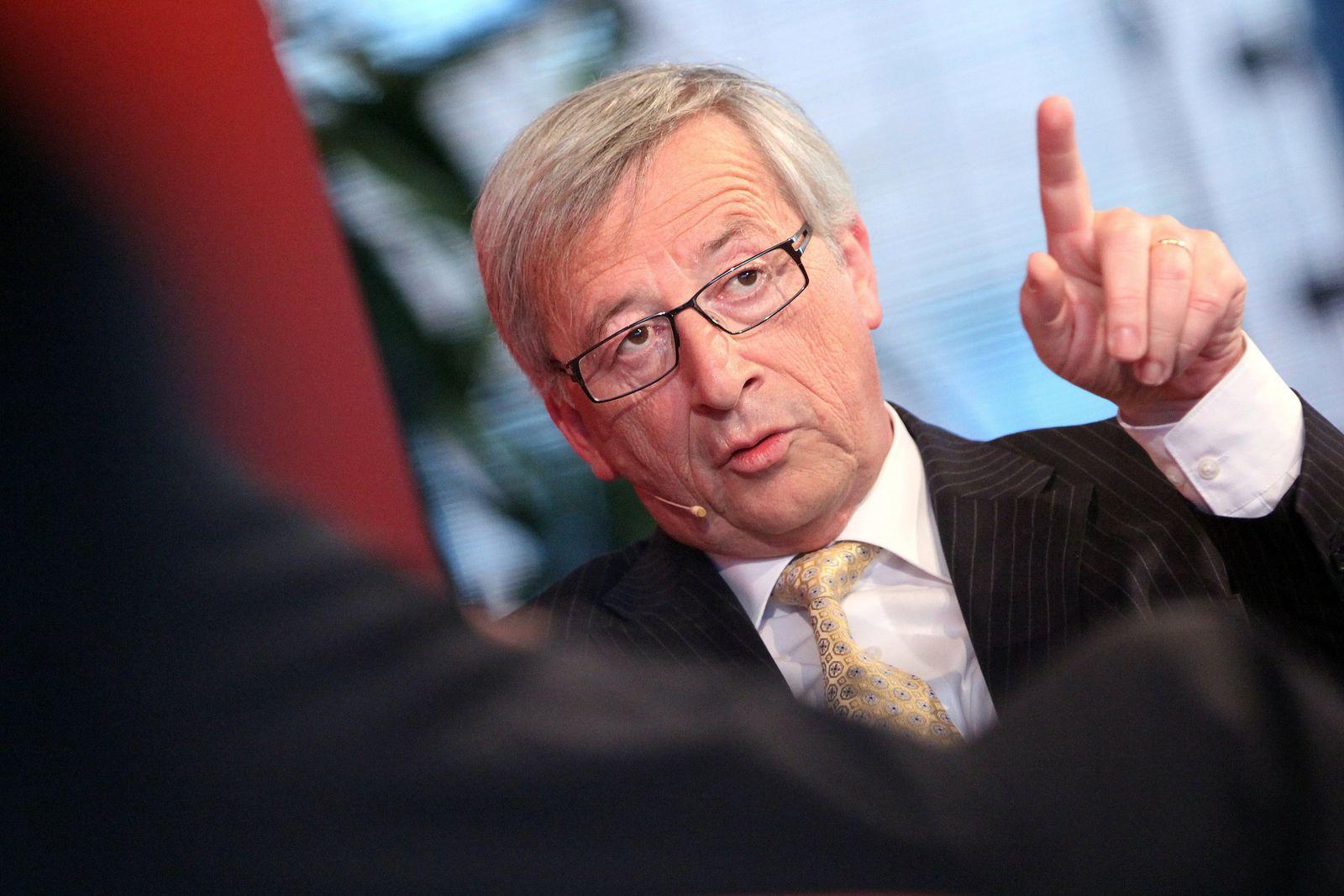"""Juncker bei Veranstaltungsreihe """"Der Montag an der Spitze"""""""