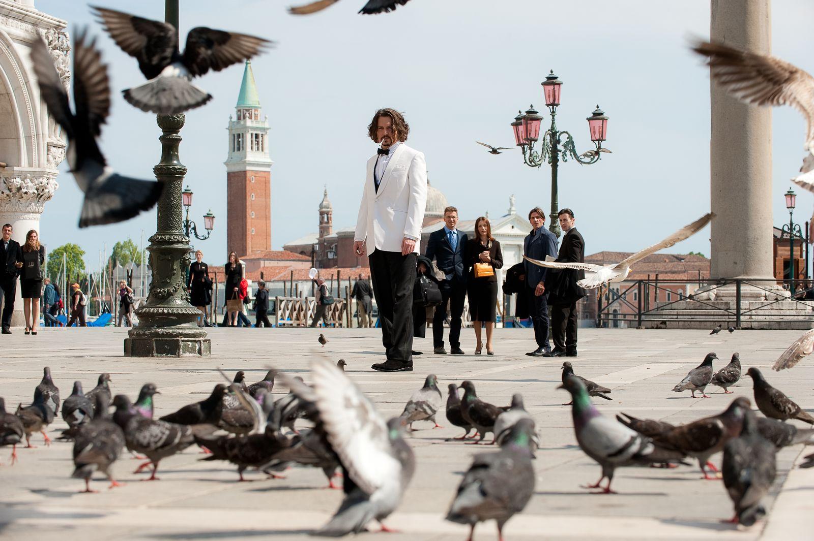 EINMALIGE VERWENDUNG The Tourist / Johnny Depp