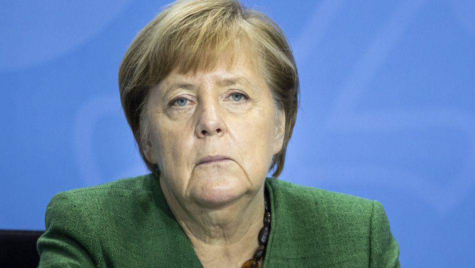 """Bundeskanzlerin Angela Merkel: """"Wir können alles zusammenwirkend und ähnlich machen"""""""