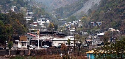 Pakistanischer Ort Muzaffarabad in der Kaschmir-Region: Hier wurden die angeblichen Mumbai-Drahtzieher festgenommen