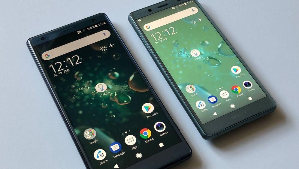 Neue Smartphones: Sony Xperia XZ2 und Xperia XZ2 Compact