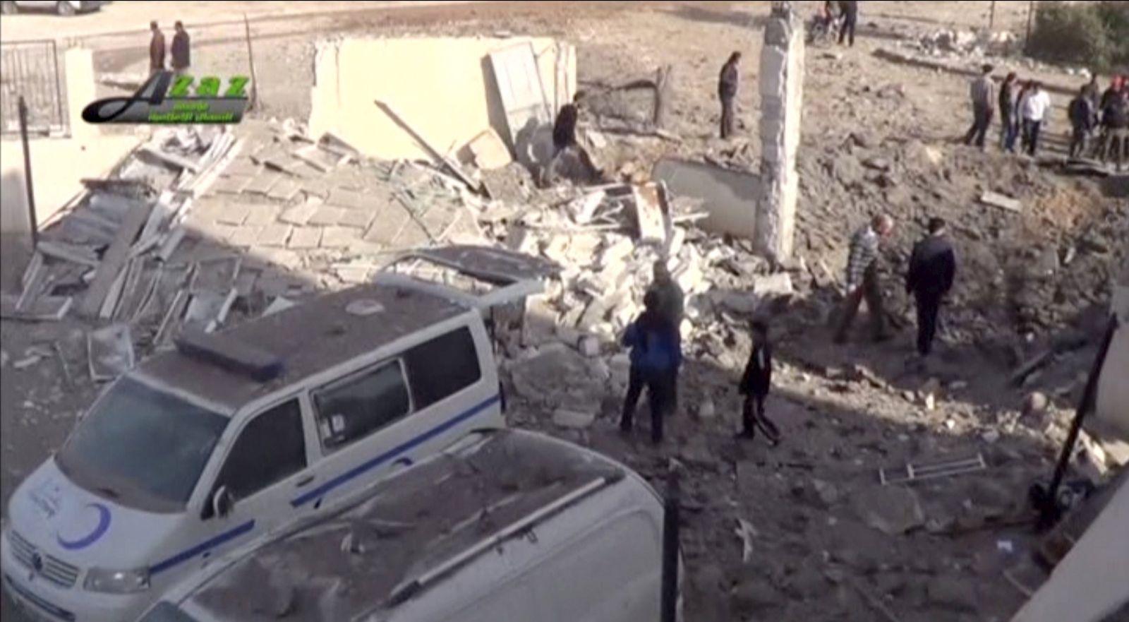Syrien/ Angriff auf Krankenhäuser
