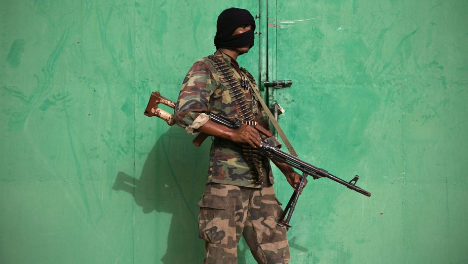Kämpfer der Tuareg-Rebellen in Nordmali (2013)