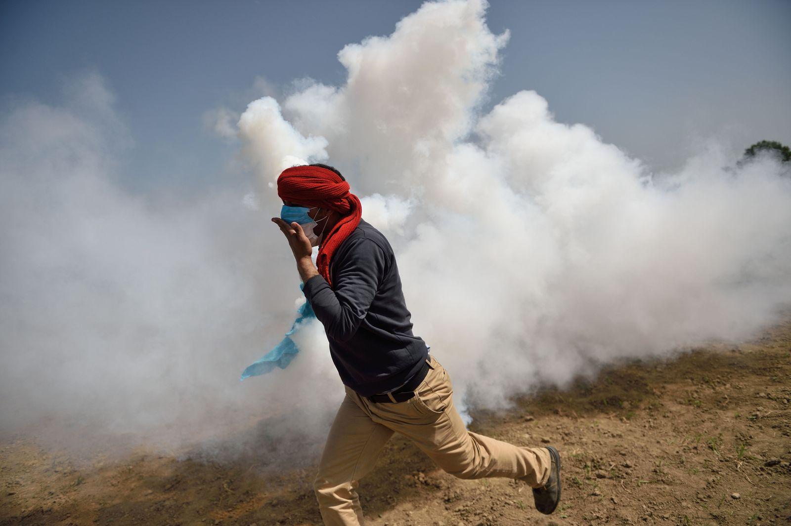 Tränengas/ idomeni