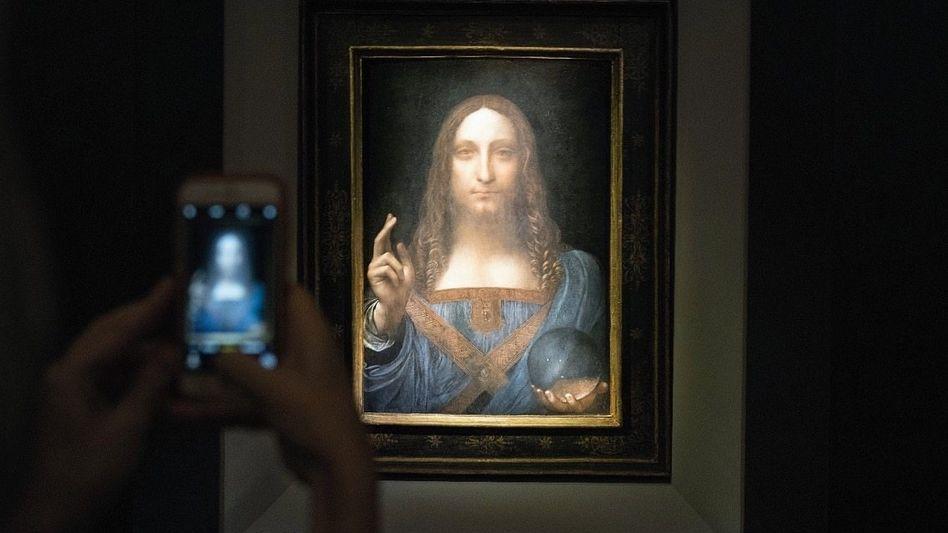 Versteigertes Gemälde »Salvator Mundi«, um 1500: Verkauft wird die Möglichkeit eines Originals