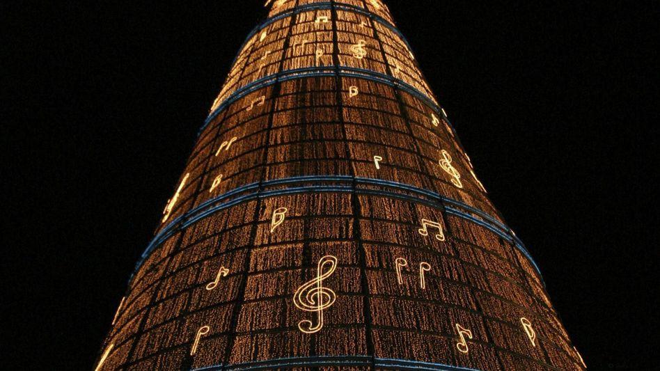 Guinness-Rekord für Mexiko-City: Hier steht der größte Christbaum der Welt