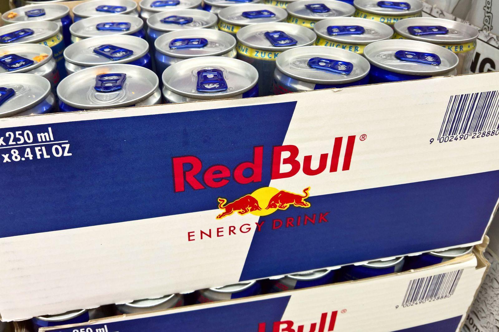 EINMALIGE VERWENDUNG Red Bull