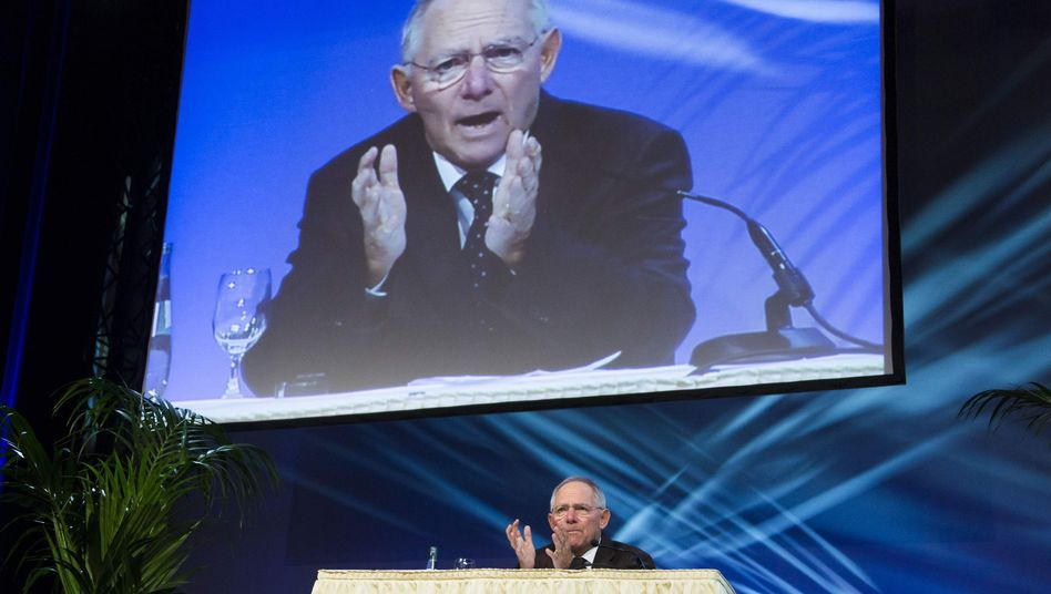 German Finance Minister Wolfgang Schäuble said the worst isn't over.