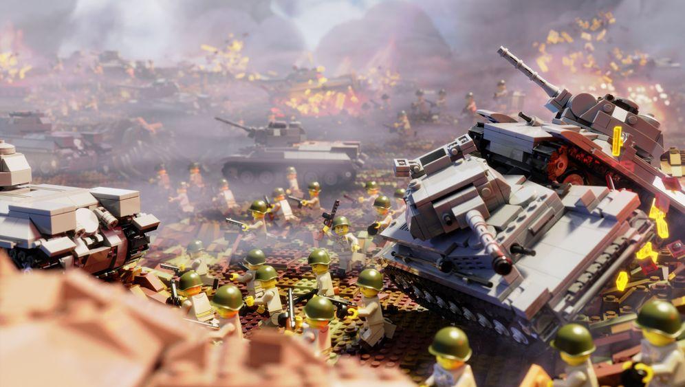 Historische Lego-Modelle: Meilensteinchen der Weltgeschichte