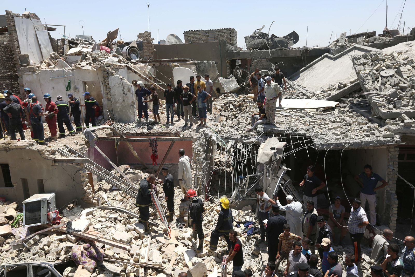 Irak Bagdad Bombardierung