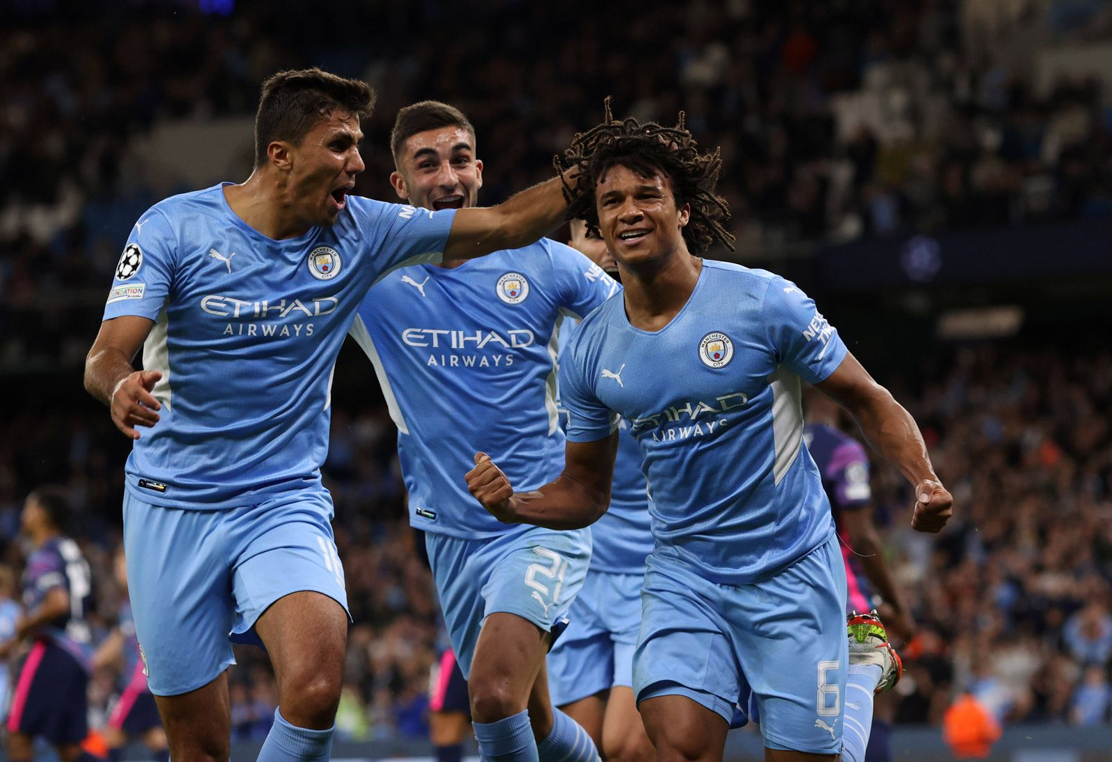 Man City v RB Leipzig 15 September 2021, Manchester - Champions League Football, Group Stage - Manchester City v RB Lei