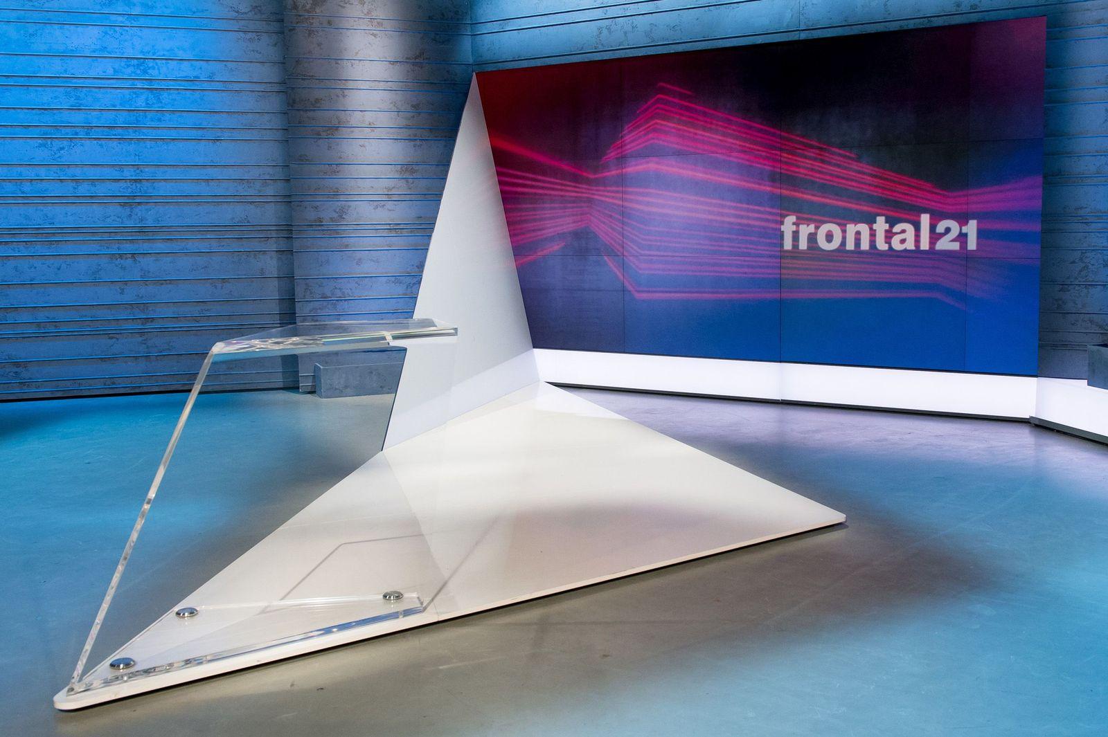 EINMALIGE VERWENDUNG ZDF/ Frontal 21