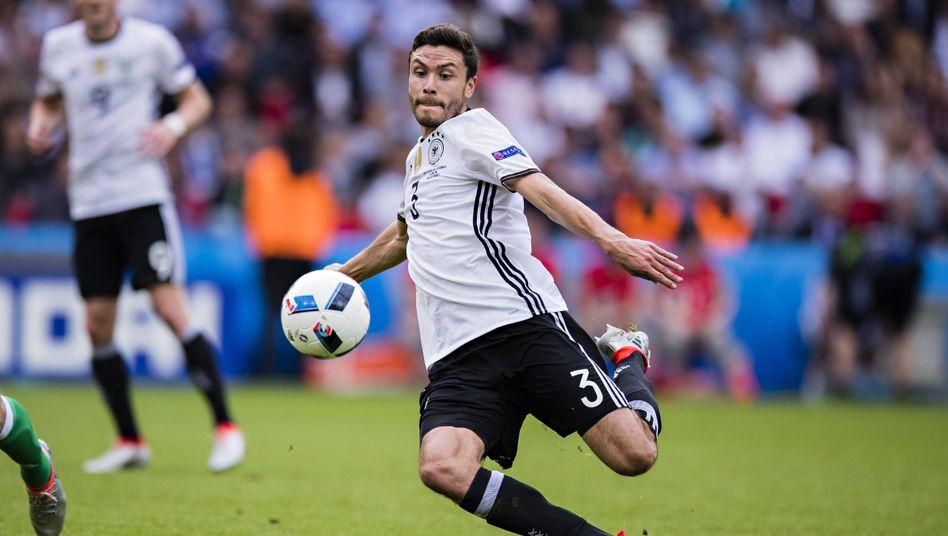 Jonas Hector bestritt 43 Länderspiele und erreichte dabei eine für einen Linksverteidiger sehr gute Quote von zwölf Vorlagen