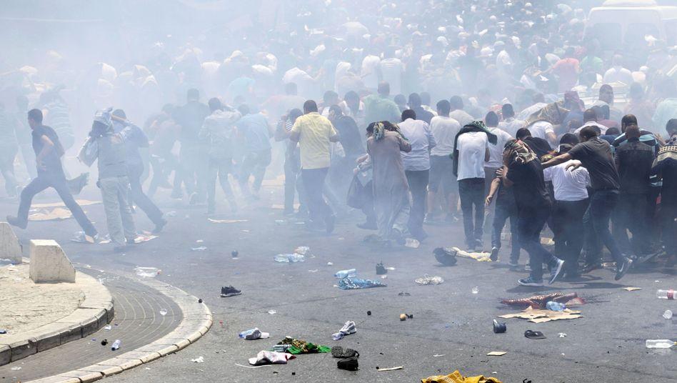 Straßenschlachten in Jerusalem