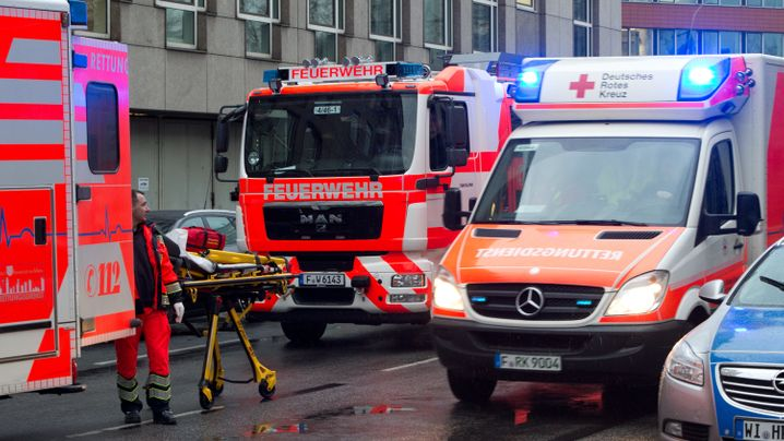 Zwei Tote: Angriff in Frankfurter Gericht