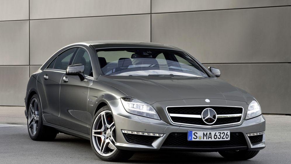 Mercedes CLS 63 AMG: Potenter Schönling