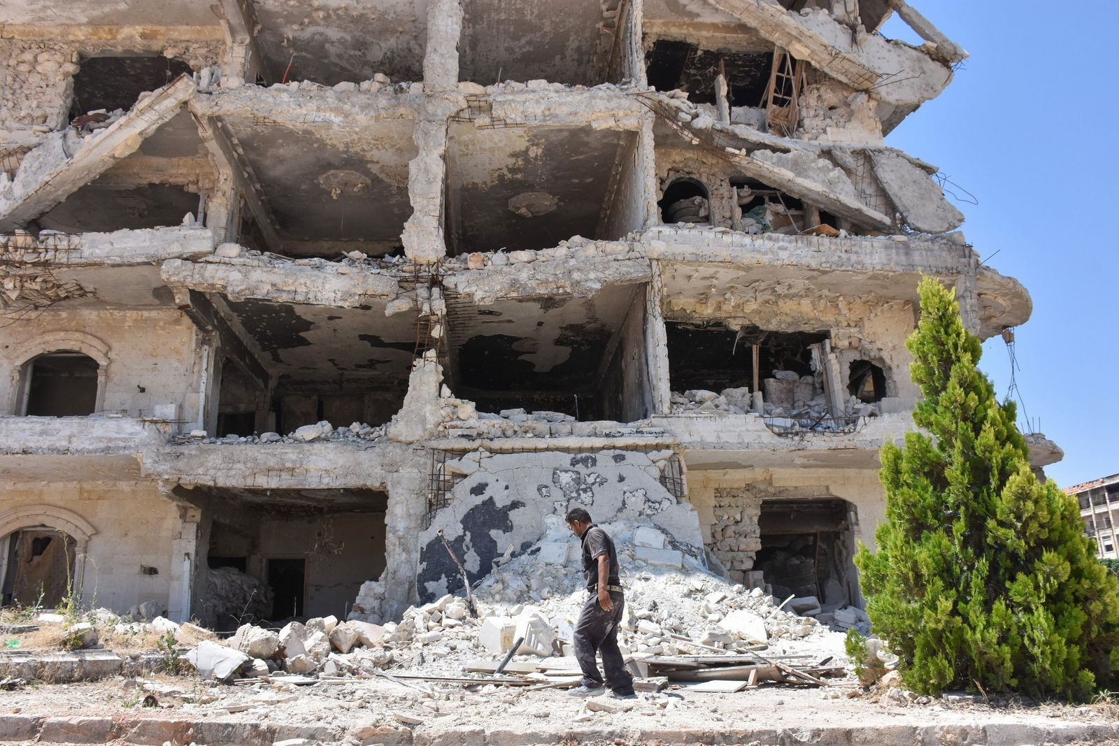 SYRIA-CONFLICT-POLITICS-RECONSTRUCTION