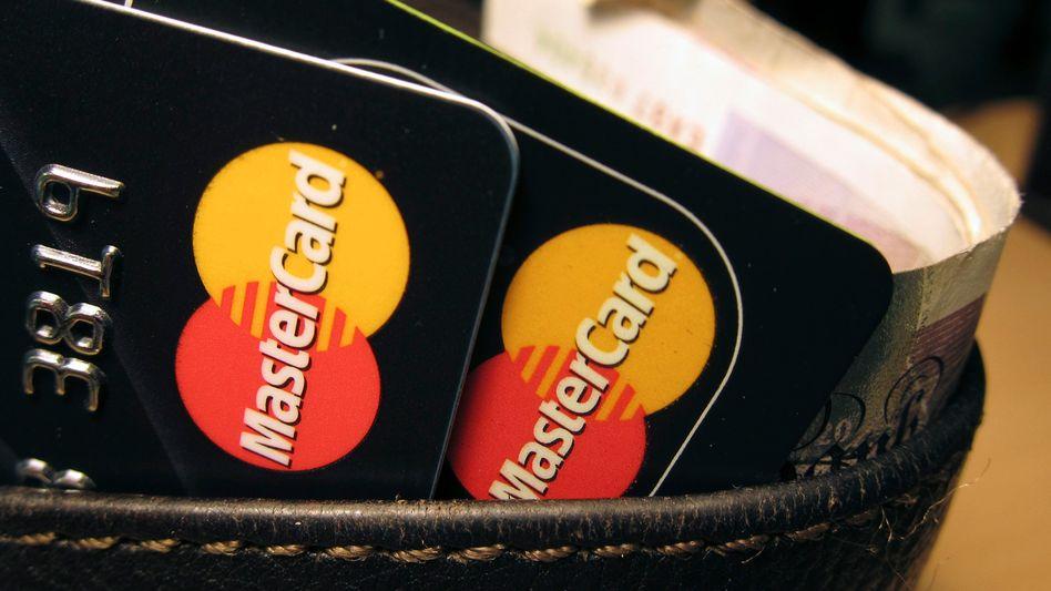 Mastercard-Kreditkarten: Das Zahlungsnetzwerk ist nicht betroffen