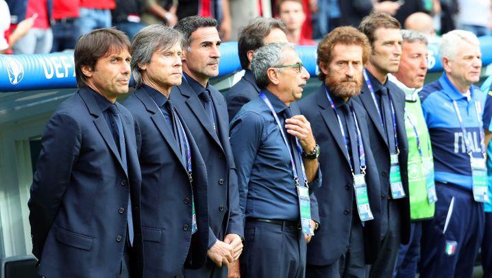 Italiens Trainer Conte: Unter Strom