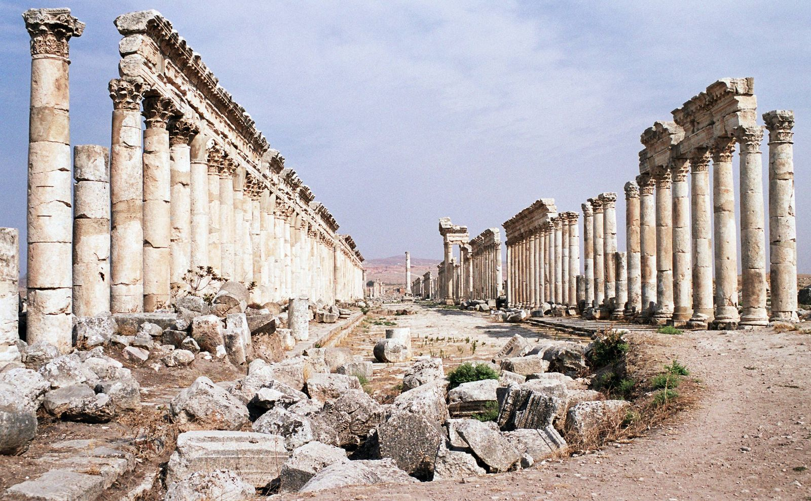 EINMALIGE VERWENDUNG Syrien / Apamea