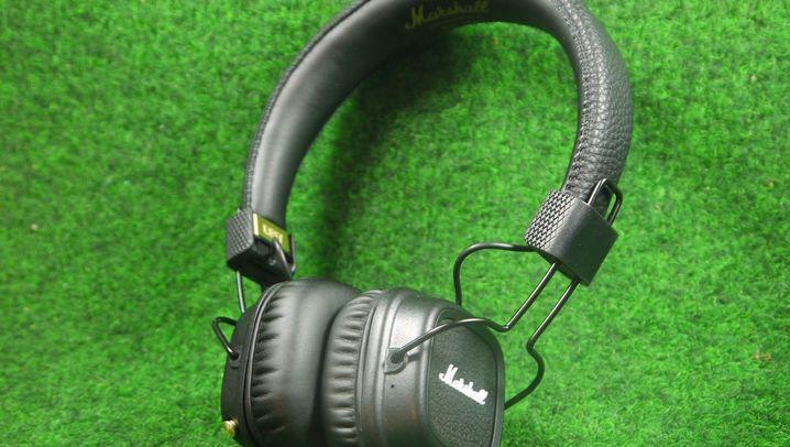 Kopfhörer im Test: Die Marshall Headphones Major II in Bildern