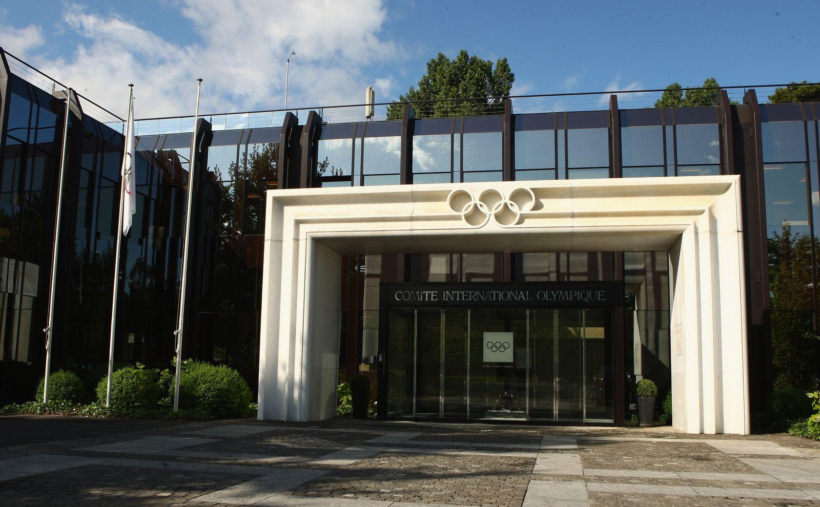 IOC Hauptquartier/ Zentrale/ Lausanne