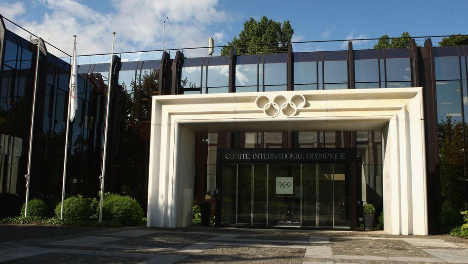 IOC-Zentrale in Lausanne