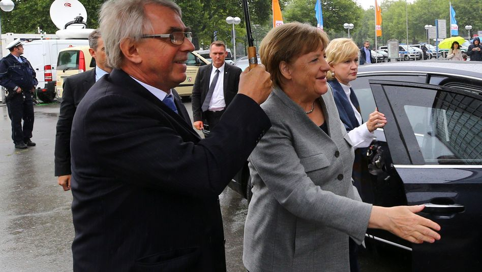 Angela Merkel in Dortmund