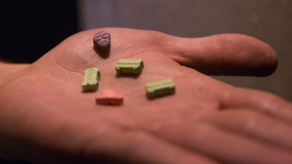 Ecstasy (Symbolbild)