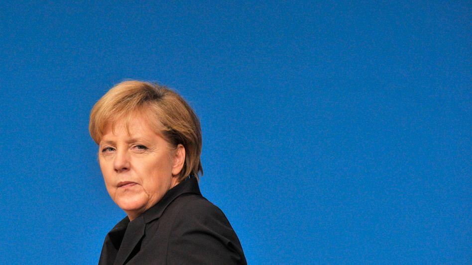 "Kanzlerin Merkel: ""Nur noch den Kopf schütteln"""