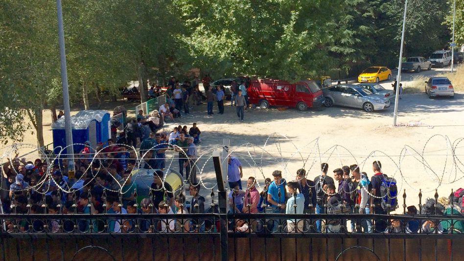 Registrierungszentrum in Ankara: Geld von der EU