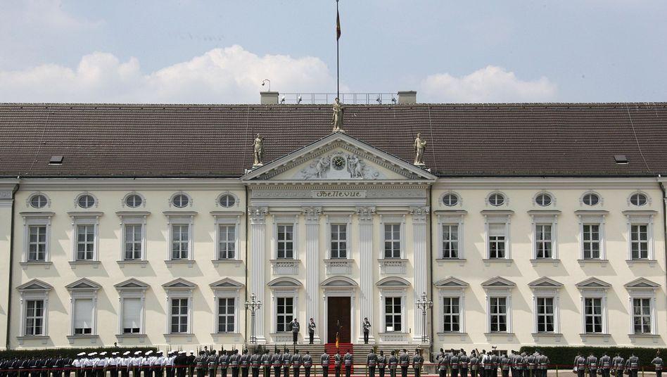 Schloss Bellevue: Viel Vollkornbrot