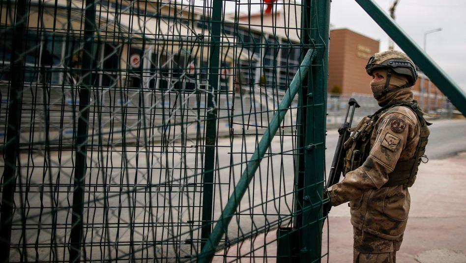 Im Hochsicherheitsgefängnis Silivri bei Istanbul werden politische Gefangene wie Osman Kavala festgehalten.