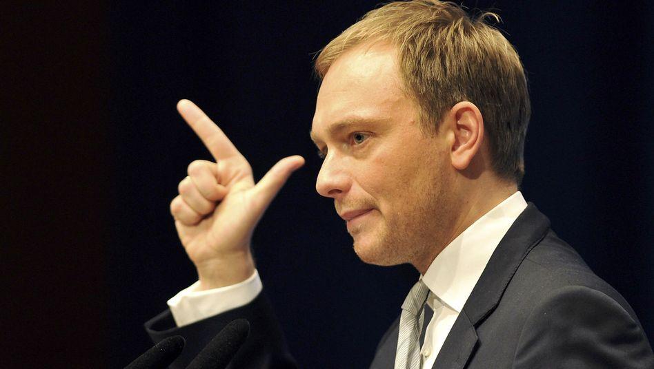 Christian Lindner: Mit großer Mehrheit zum FDP-Spitzenkandidaten in NRW gewählt