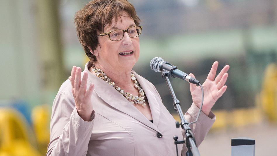 Ex-Ministerin Zypries