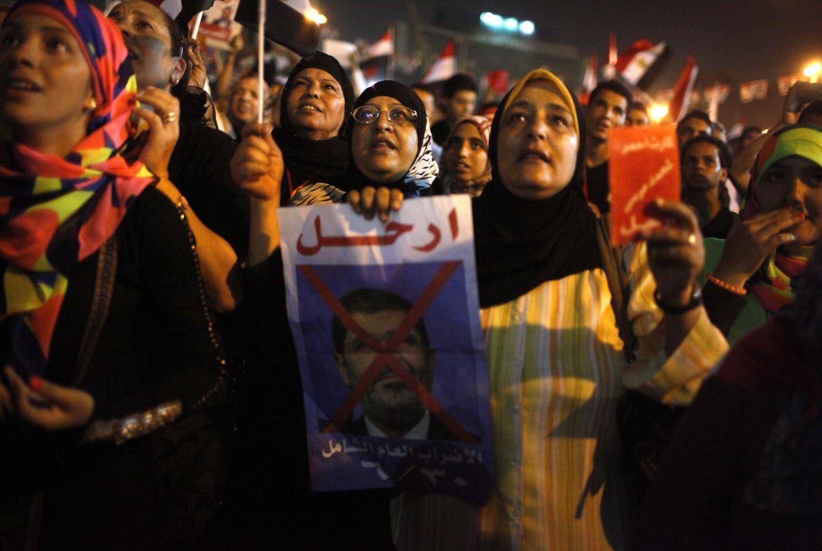 Ägypten Proteste Mursi