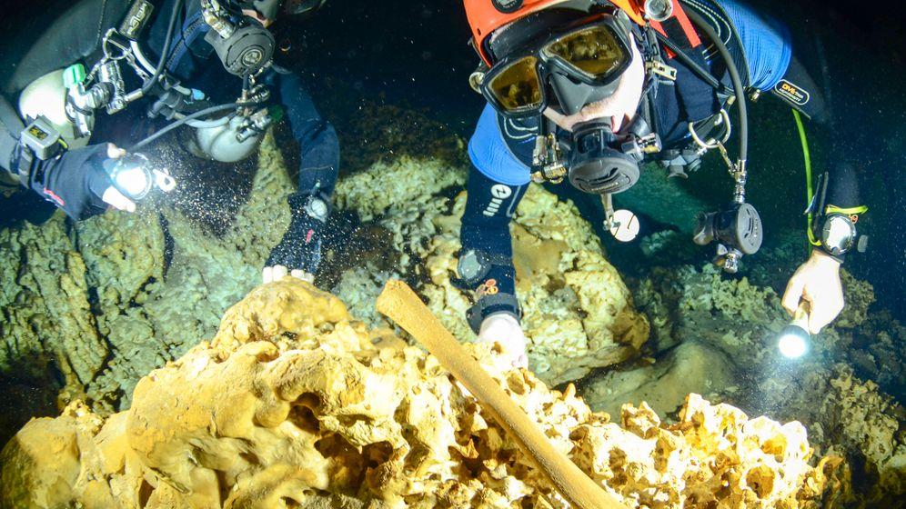 Mexiko: Maya-Relikte und Fossilien in weltgrößter Unterwasserhöhle entdeckt
