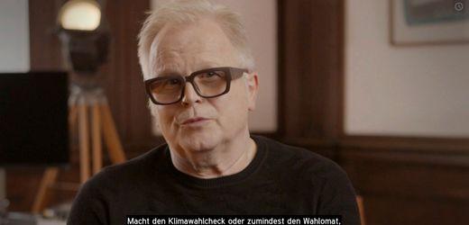 Wahlaufruf von Herbert Grönemeyer: »Ich bin jetzt 65, und es ist meine Generation, die in der Pflicht steht«...