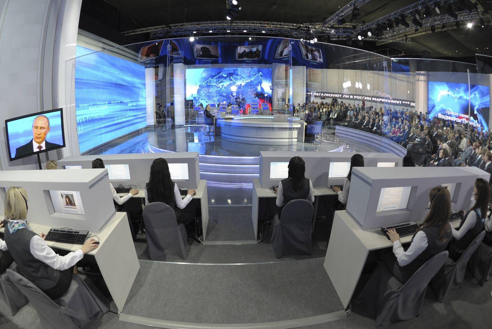 Moskau / Fernsehstudio