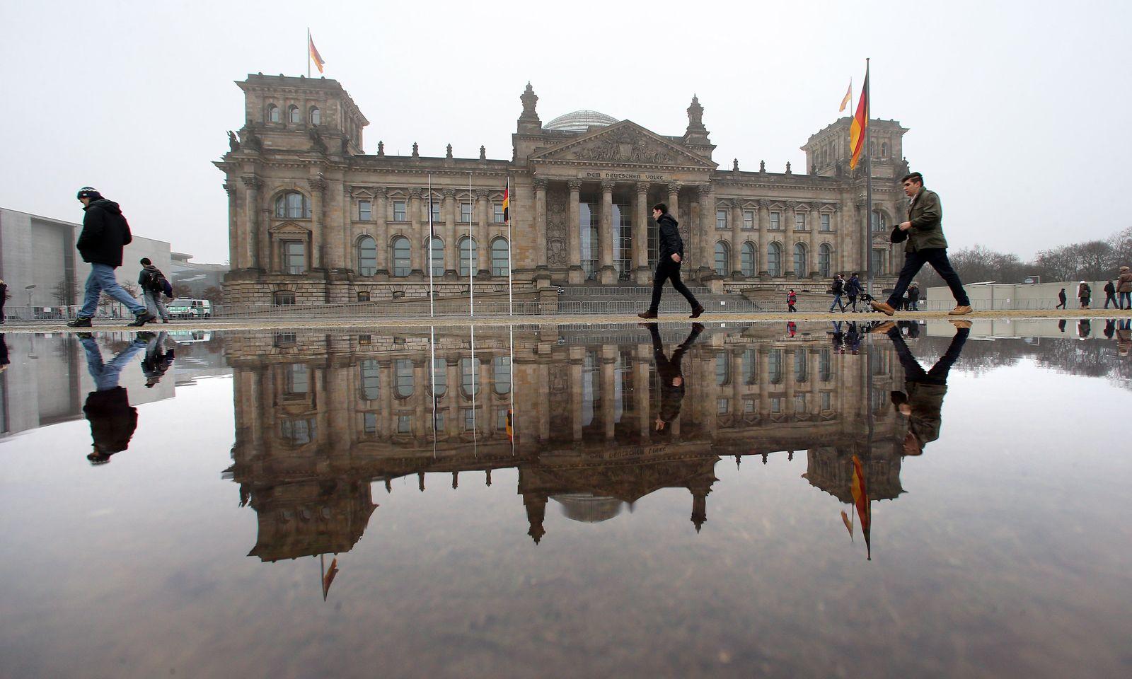 Bundestag / REichstagsgebäude Berlin