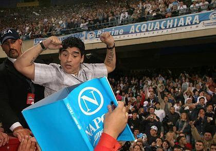 """Heimkehrer Maradona: """"Stadt sehr vermisst"""""""