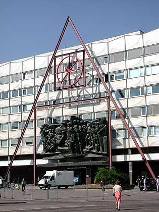 Campus in Leipzig: Krach um die frühere Kirche