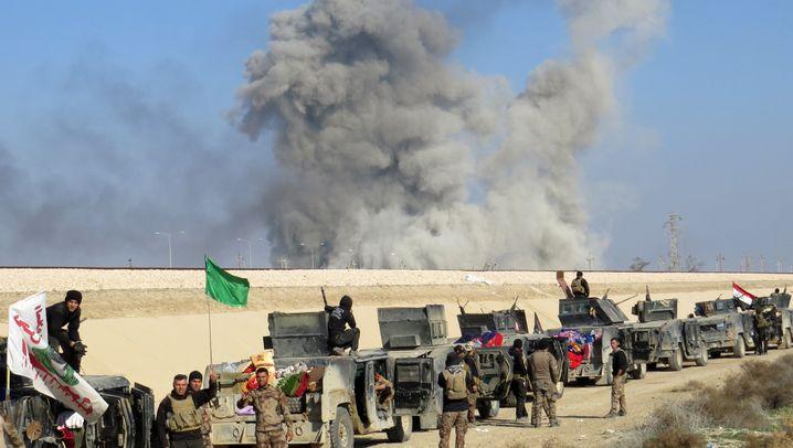 Kampf um Ramadi: Irakische Armee rückt in Stadtzentrum vor